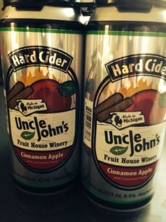 Uncle John's Cinnamon Hard Apple Cider from Tom's Food Center in ...