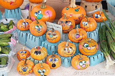 Painted Mini Pumpkins Neat Crafty Ideas Pinterest