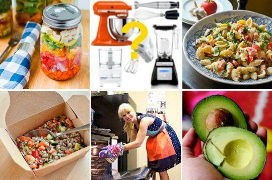 ... Lunch Salads in Mason Jars & Zesty Tortellini Salad Friday Flashback