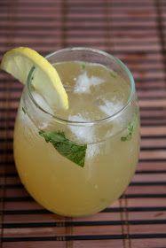 Honey Sweetened Basil Lemonade | Sweets & Drinks | Pinterest