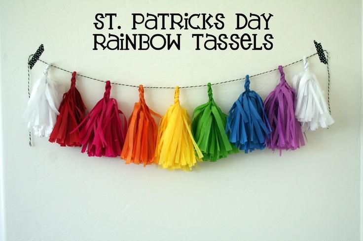 monet jewelry Rainbow Tassel Garland