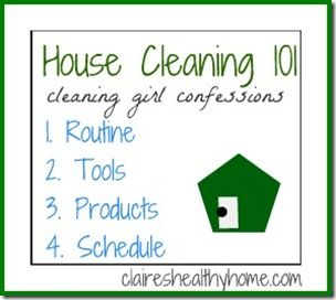 tips on how to clean a house professionally