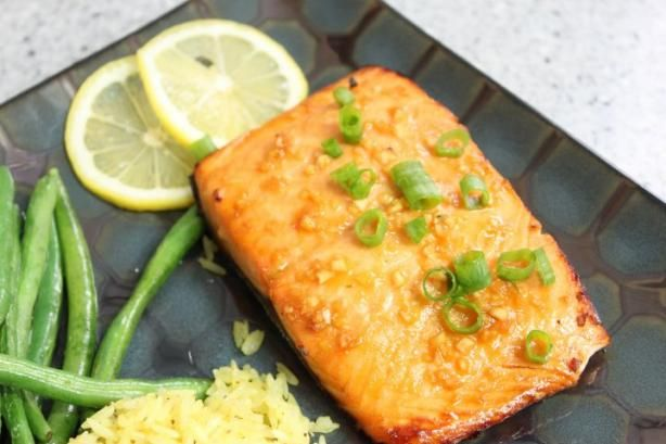 Honey Ginger Grilled Salmon | Recipe