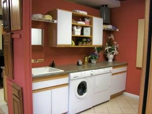 With cabinets and sink laundry room ideas pinterest