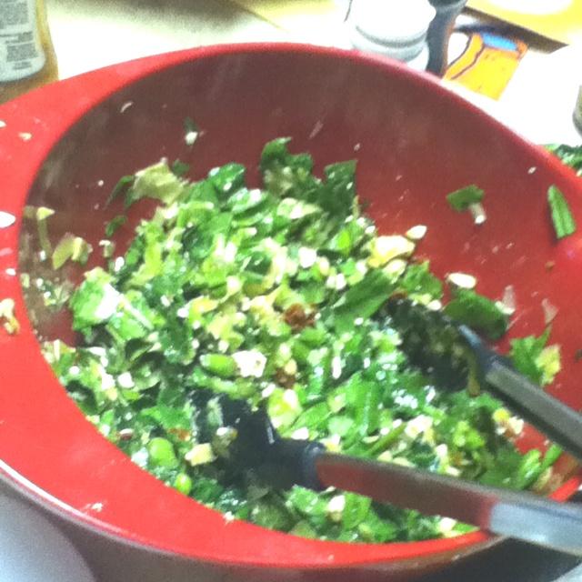 ... artichokes pine nuts Chopped Fresh baby spinich chopped Fresh garlic