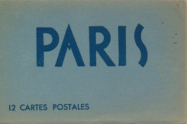 :: Paris, 12 cartes postales ::