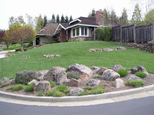 River rock landscaping landscaping pinterest for River rock landscaping
