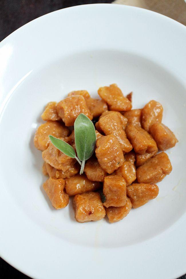 Pumpkin Gnocchi in Brown Butter Sage Sauce | Recipe