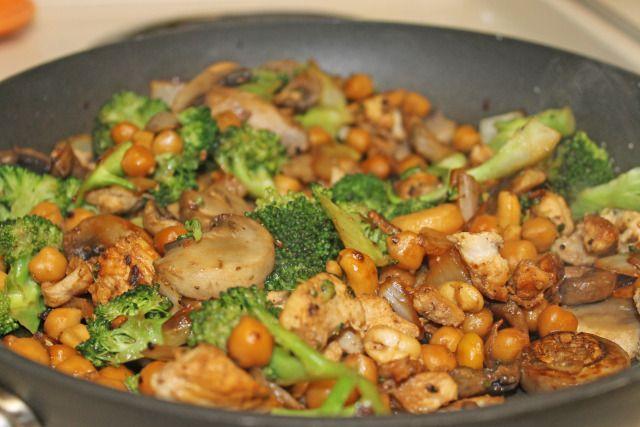 Chicken, Chickpea, & Cashew 1 | Main Course Yums | Pinterest