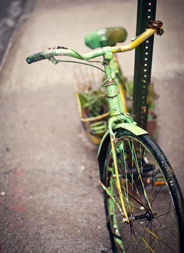 green bike - what Katie Ate
