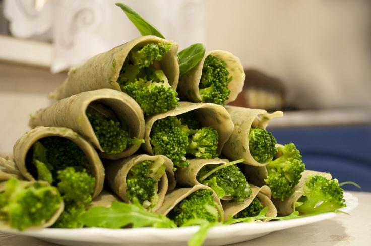 broccoli and spinach pancakes | ételek | Pinterest