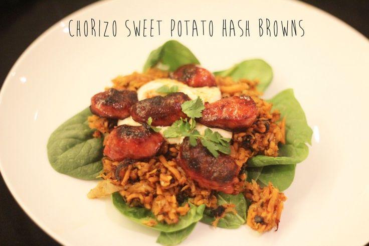 Chorizo Sweet Potato Hash Browns | Main Dishes | Pinterest