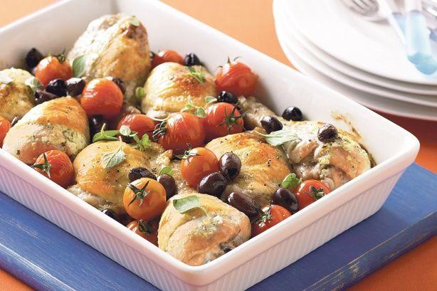 Lemon Feta Chicken With Oregano Recipes — Dishmaps