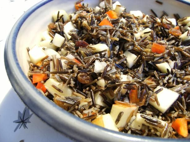 Snoqualmie Wild Rice Apple Salad - will try this soon.. might make it ...