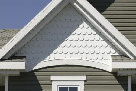 Half Round Siding Curb Appeal Pinterest