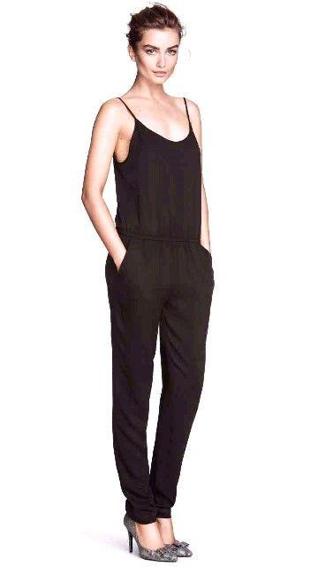 h m black jumpsuit my style pinterest. Black Bedroom Furniture Sets. Home Design Ideas