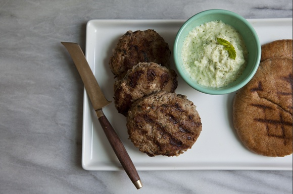 Greek Lamb Burgers   Burgers and Sliders   Pinterest