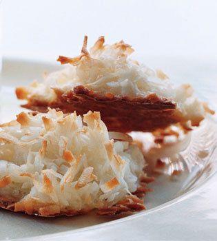 ... Easy Passover Pastries: Coconut Macaroons | Shine Food - Yahoo! Shine