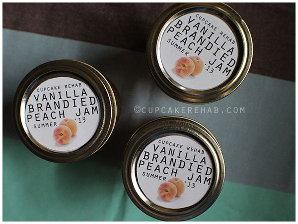 Vanilla brandied peach jam. | Canning & Preserving | Pinterest
