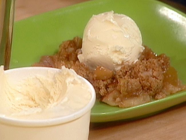 Apple Crisp from FoodNetwork.com