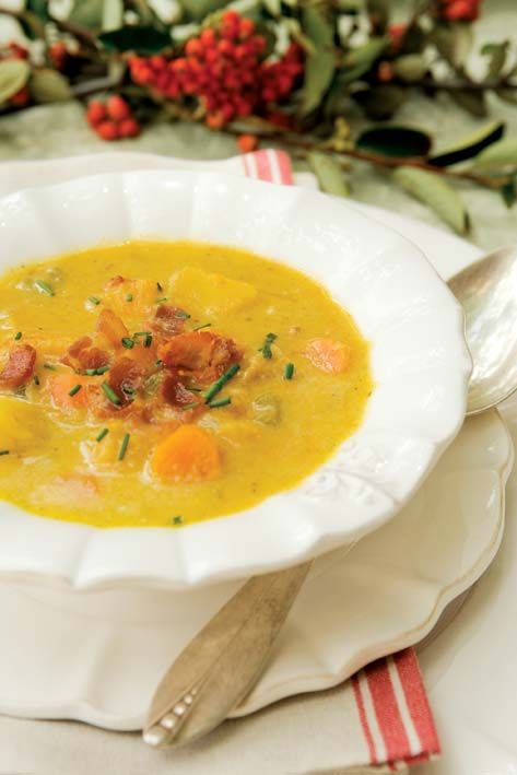 Vegetable chowder-going to have to figure out the conversion here.....