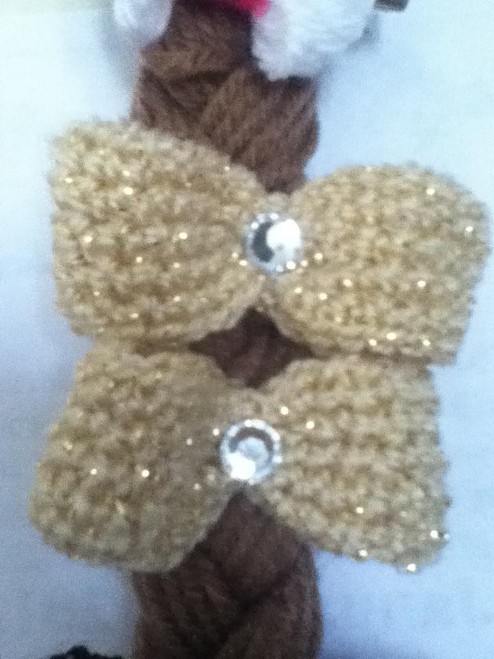 Crochet Gold Hair Pins crochet Pinterest