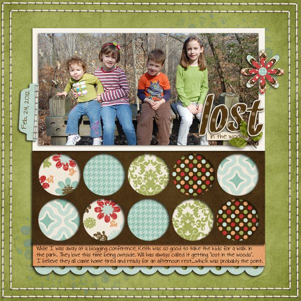 so cute!   Scrapbooking - sample page layouts   Pinterest