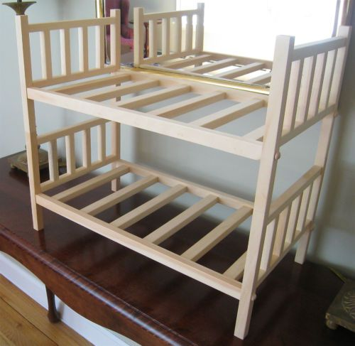 Pin by becky schneider on beds furniture for american for Stackable bed plans