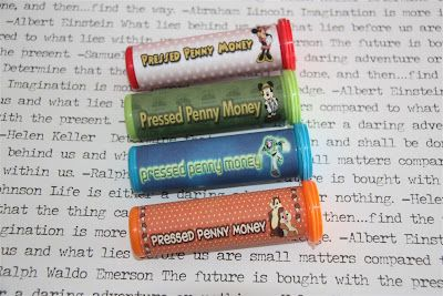 Make pressed penny tubes - for the next time we go to the zoo!