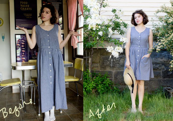 Thrift store makeovers clothes