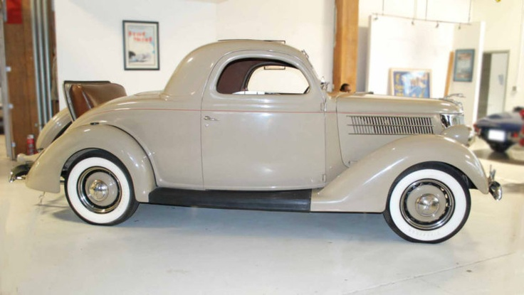 1936 ford 3 window rumble seat coupe classic pinterest for 1936 3 window coupe