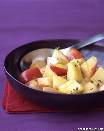 Sauteed Apples with Thyme | Food | Pinterest
