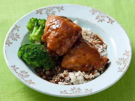 Apricot Glazed Chicken | Recipe