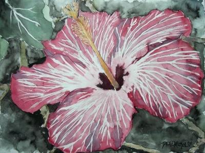 Very pretty flower art pinterest for Pretty flower paintings