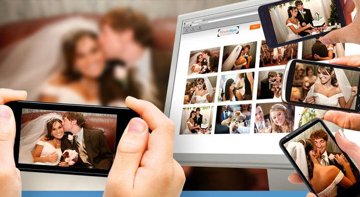 Wedding picture app that allows everyone to upload their candid shots. Awesome.