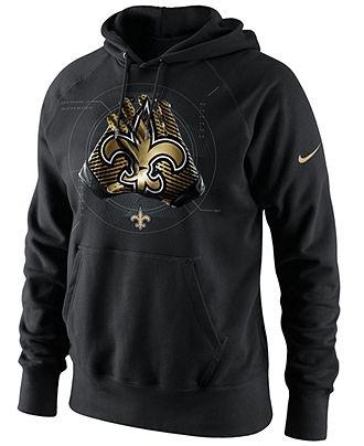 Nike NFL Hoodie, New Orleans Saints Glove Lock-Up Football Hoodie