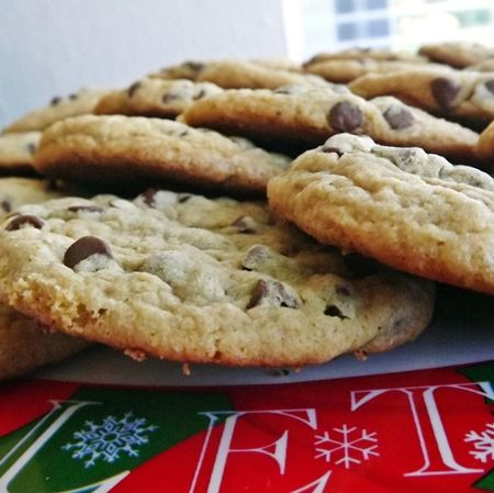 Gluten Free Chewy Chocolate Chip Cookies   Food   Pinterest