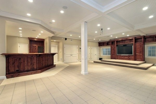 Basement Finishing Do It Yourself Decor Pinterest