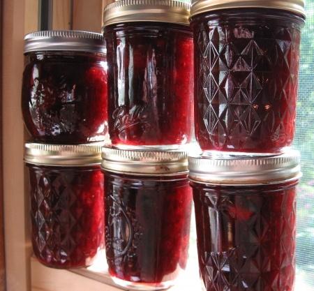 Strawberry Jam with Balsamic Vinegar and Black Pepper ~lovely combo