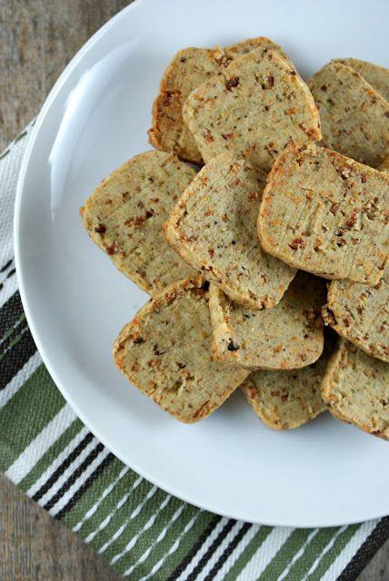 ... Suburban Gourmet: Friday Night Bites | Bacon Parmesan Crackers