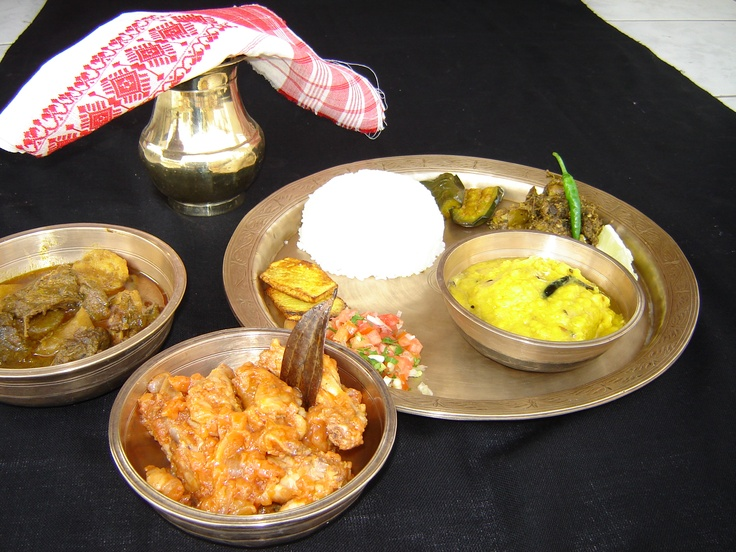 Assamese food food pinterest for Assamese cuisine in delhi