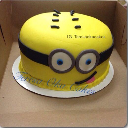 Minion Cake Design Pinterest : Minion Cake Cake/Frosting Ideas Pinterest