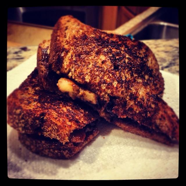 Banana & Nutella Sandwich | Sammies | Pinterest