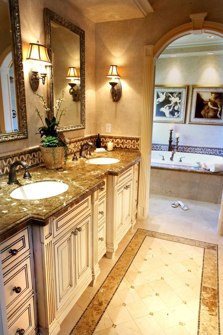 Traditional master bathroom designs
