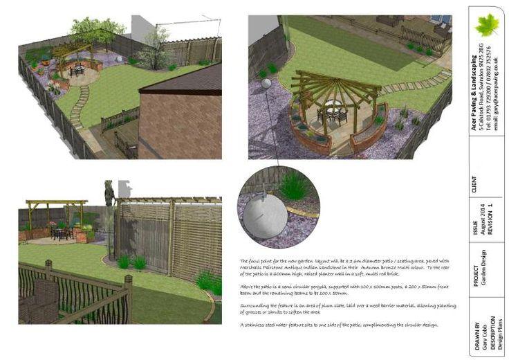 Sketchup garden design garden pinterest for Sketchup landscape design