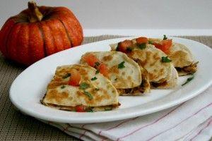 Recipe: Black Bean Pumpkin Quesadillas