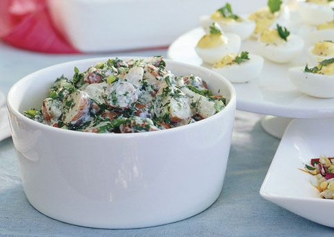 Creamy Potato Salad with Lemon and Fresh Herbs - Bon Appétit