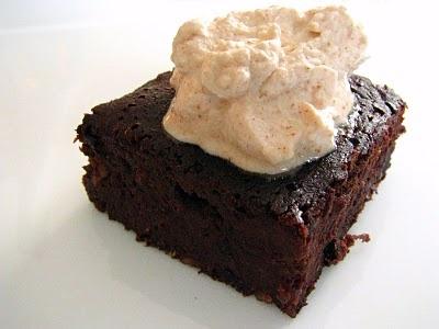 black bean brownies! Not my favorite, vegan brownies made with pumpkin ...