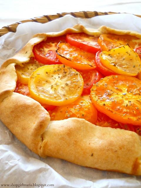 Shopgirl: Heirloom Tomato Galette | I like pizza... | Pinterest