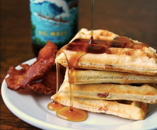 Beer & Bacon-Battered Waffles | Sinfully Delicious | Pinterest